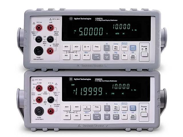 Цифровые мультиметры серии U3400