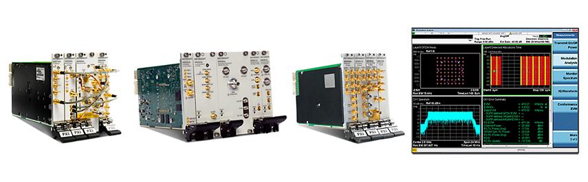 Векторные анализаторы сигналов в формате PXI