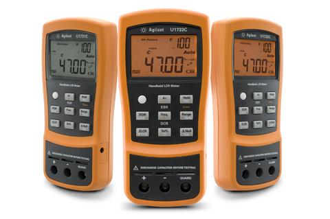 Ручные измерители емкости и иммитанса (LCR) серии U1700